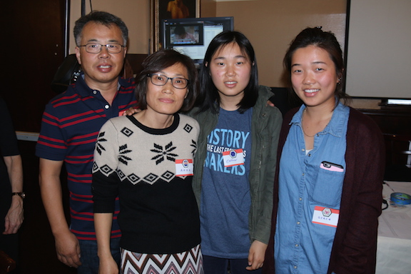 Grace Kim and family