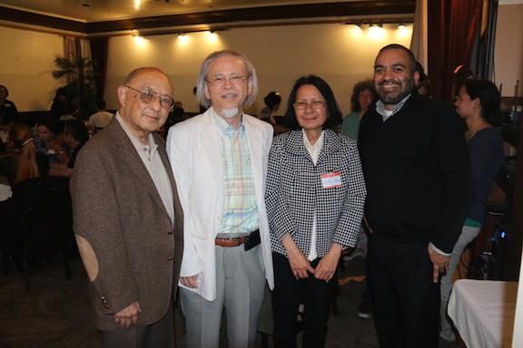 Profs. Lloyd Inui, John Tsuchida, OUtey Khoun and Juan Benitez