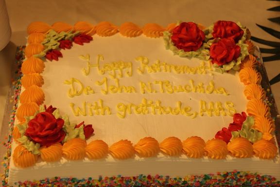 John's Retirement Cake