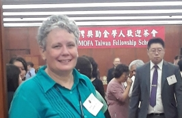 Teresa at the MOFA Reception