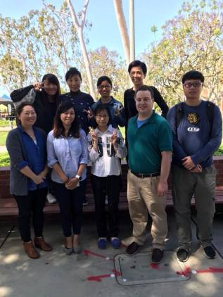 AST & CHIN Pedagogy MA Students during Spring 2018 Semester